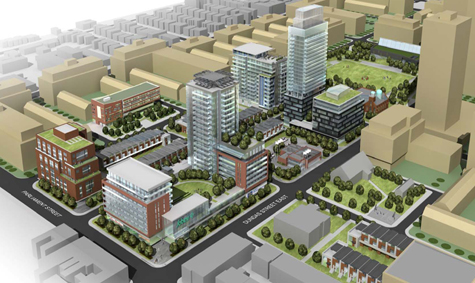 Local Input~ Regent Park revitalization for, Natalie Alcoba story. Handout photo.